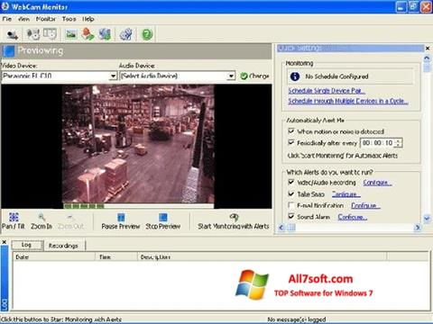 Screenshot WebCam Monitor for Windows 7