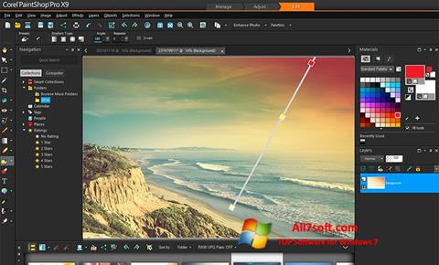 Screenshot PaintShop Pro for Windows 7
