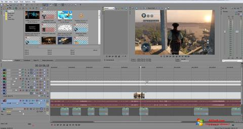 Screenshot Sony Vegas Pro for Windows 7
