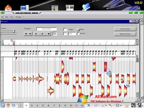 Screenshot Melodyne for Windows 7