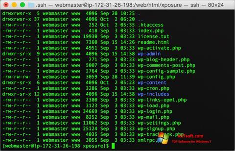 Screenshot Wget for Windows 7
