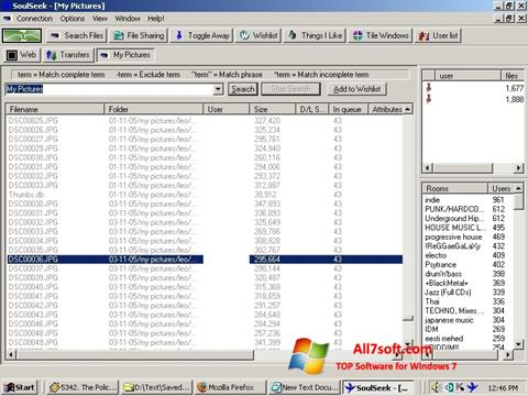 Screenshot Soulseek for Windows 7