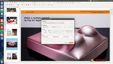 Screenshot Master PDF Editor for Windows 7