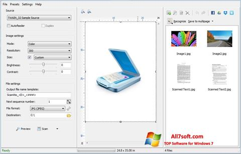 Screenshot WinScan2PDF for Windows 7