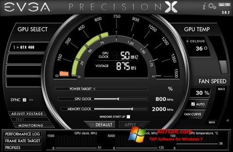 Screenshot EVGA Precision X for Windows 7