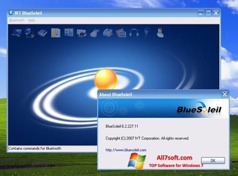 Screenshot BlueSoleil for Windows 7