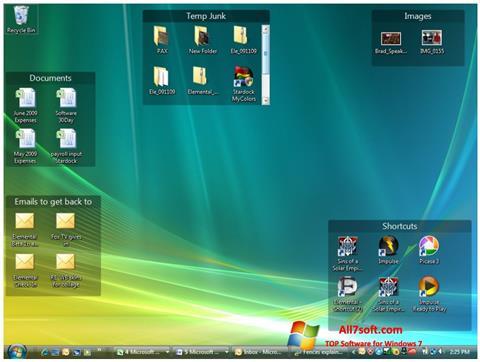 Screenshot Fences for Windows 7