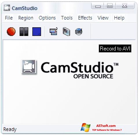Screenshot CamStudio for Windows 7