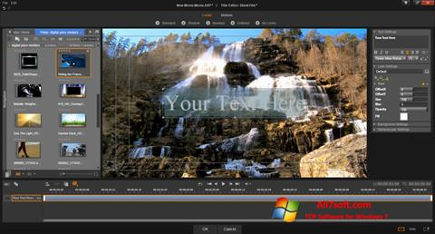 Screenshot Pinnacle Studio for Windows 7