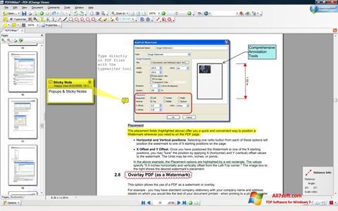 Screenshot PDF-XChange Editor for Windows 7