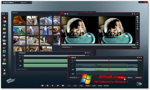 Screenshot Lightworks for Windows 7