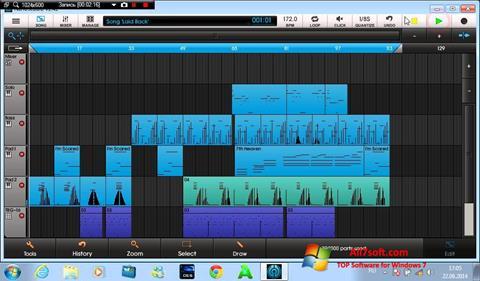 Screenshot NanoStudio for Windows 7