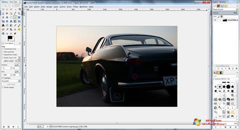 Screenshot GIMP for Windows 7