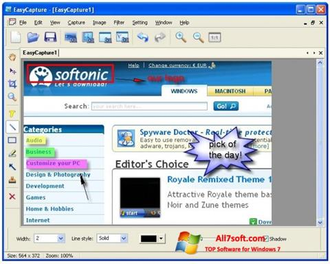 Screenshot EasyCapture for Windows 7