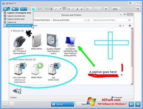 Screenshot QIP for Windows 7