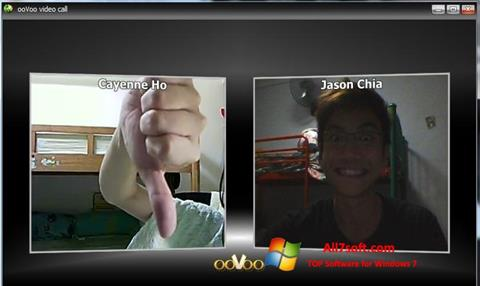 Screenshot ooVoo for Windows 7