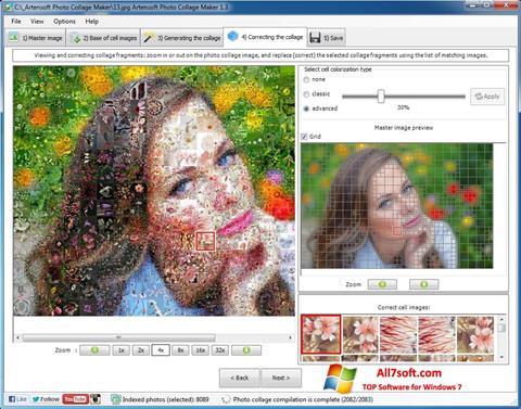 Screenshot Photo Collage Maker for Windows 7