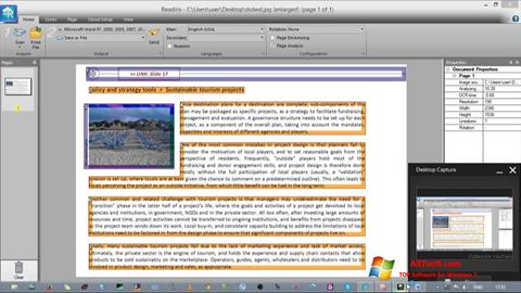 Screenshot Readiris Pro for Windows 7
