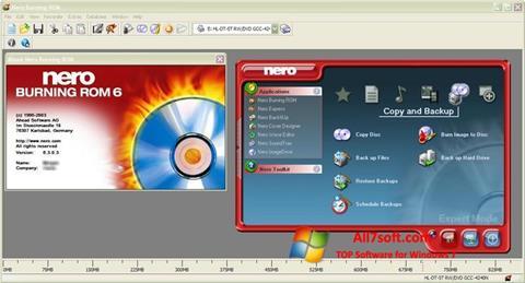 Screenshot Nero Burning ROM for Windows 7