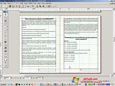 Screenshot Scribus for Windows 7