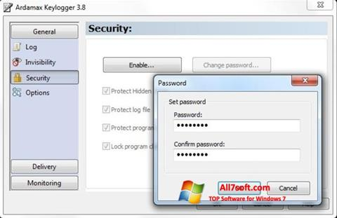 Screenshot Ardamax Keylogger for Windows 7