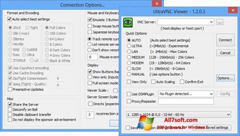Screenshot UltraVNC for Windows 7
