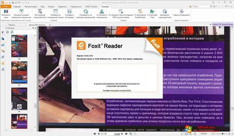 Screenshot Foxit Reader for Windows 7