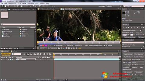 Screenshot Adobe After Effects CC for Windows 7