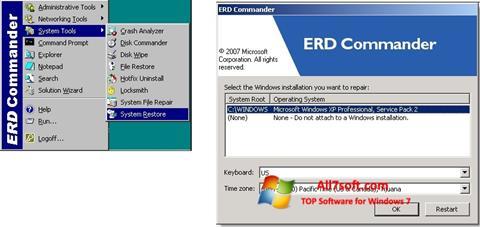 Screenshot ERD Commander for Windows 7