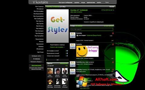 Screenshot Get Styles for Windows 7