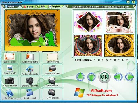 Screenshot Photo Booth for Windows 7