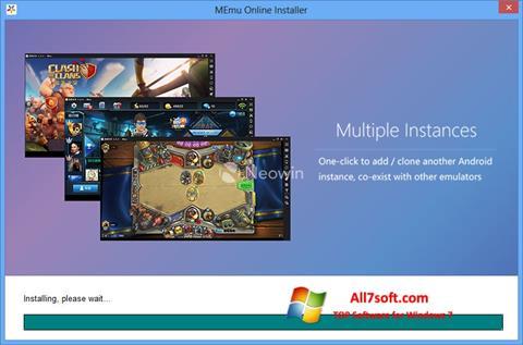 Screenshot MEmu for Windows 7