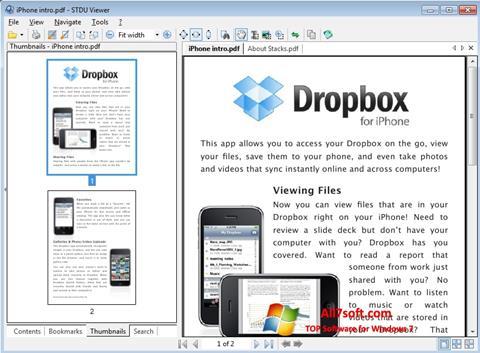 Screenshot STDU Viewer for Windows 7
