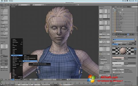 Screenshot Blender for Windows 7