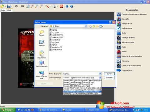 Screenshot Nero PhotoSnap for Windows 7