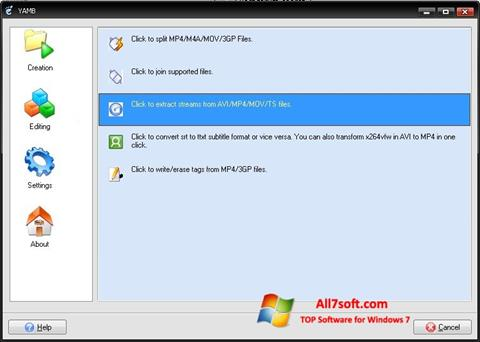 Screenshot Yamb for Windows 7