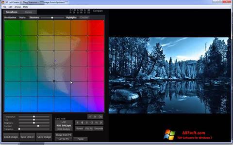 Screenshot 3D LUT Creator for Windows 7