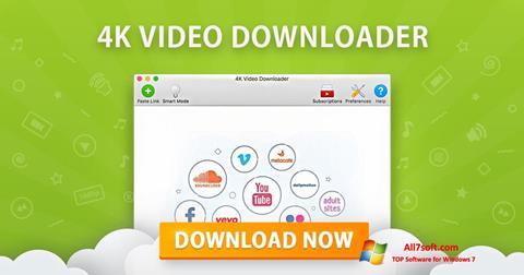 Screenshot 4K Video Downloader for Windows 7