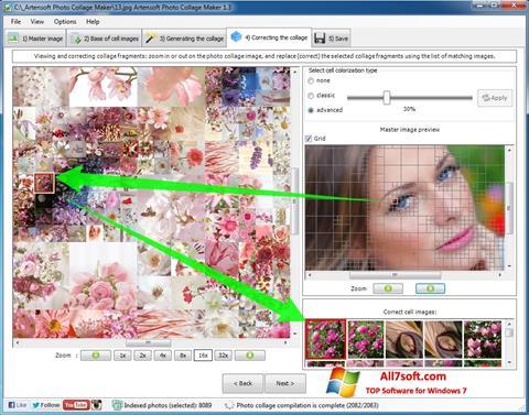Screenshot Photo Collage for Windows 7