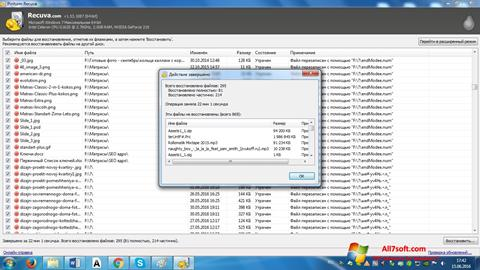Screenshot Recuva for Windows 7