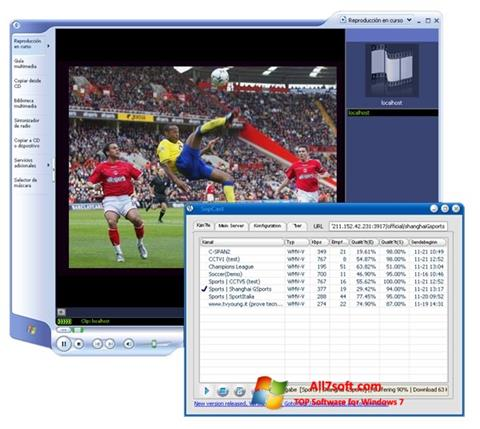 Screenshot SopCast for Windows 7