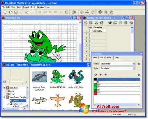 Screenshot Toon Boom Studio for Windows 7