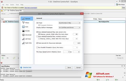 Screenshot GoodSync for Windows 7