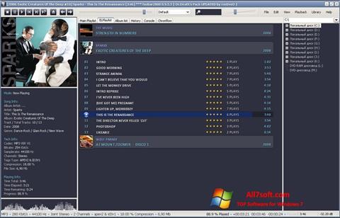Screenshot Foobar2000 for Windows 7