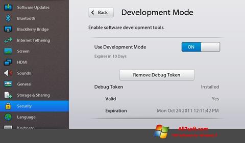 Screenshot Adobe AIR for Windows 7