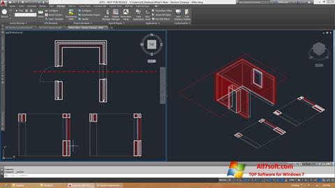 Screenshot AutoCAD Architecture for Windows 7