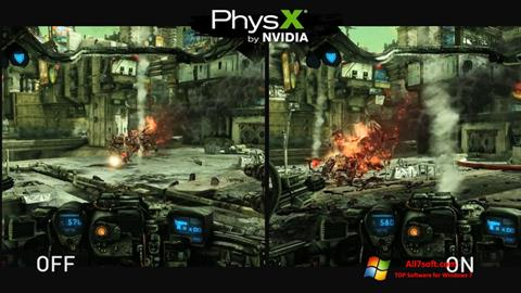 Screenshot NVIDIA PhysX for Windows 7