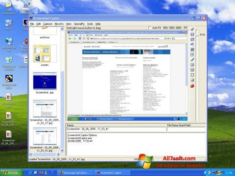 Screenshot Screenshot Captor for Windows 7