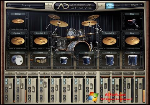 Screenshot Addictive Drums for Windows 7