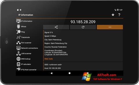 Screenshot IP Tools for Windows 7